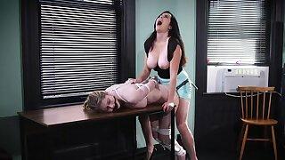 Hot leggy babes amazing lesdom porn video