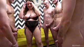 Curvy MILF Iveta Takes First of all Multiple Cocks