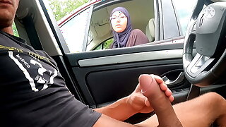 I pull in foreign lands my cock on this highway area face this Muslim !!