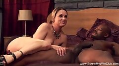 Horny Fit together Fucks BBC For Hubby