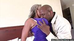 AdultMemberZone - Big Titted Milf craves weighty black cock