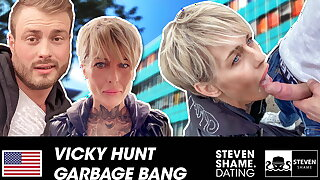 Vicky Hundt: Horny MILF gets dicked HARD! StevenShame.dating