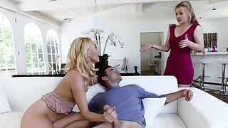 BadMILFS- Horny Cougar Fucks Daughters Boyfriend