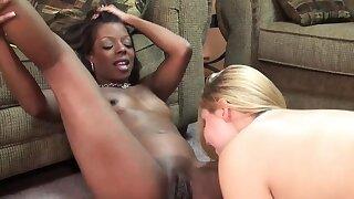 Lesbo wives Anastasia and Savanna make each other cum abiding