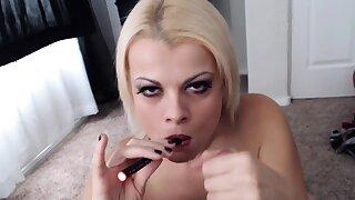 Nadia smokes an e-cig while also smoking a barrier