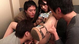 Nana Nakamura gets a line - More at JavHD.net