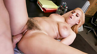Trickery April ONeil tricked into sex upon a security guard
