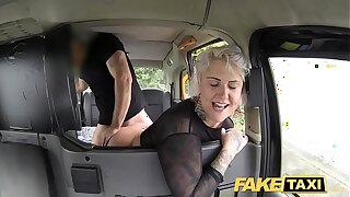 Fake Taxi blonde milf gets surprise anal sex increased by rims the boots