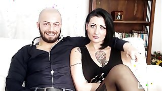 CASTING ALLA ITALIANA - #Lady Muffin - Hardcore Sex Before Anal For Italian MILF