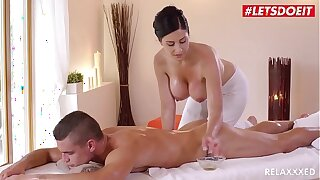 LETSDOEIT - Czech MILF Takes Young Big Load of shit On Hot Massage Carnal knowledge (Alex Black & Max Dior)