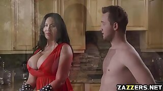 Hot milf Sybil Stallone swell up Fore-part Wylde deep throat