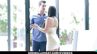 SheWillCheat - Hot Wife Devours Trainers Cock