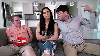 BANGBROS - Step Family Sex Trio With MJ Fresh, Kid play around Myers Increased by Preston Parker