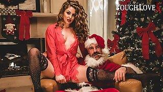 TOUGHLOVEX Pane Taylor has a present for Bad Santa X