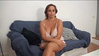 Gloria is back to bang a horny young dude