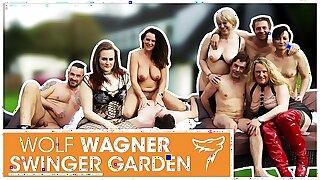 Swinger Party! HOT German MILFs get fucked by random men! WolfWagner.com