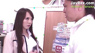 Japanese pornstar Hitomi Tanaka - bossy lady has systematize sex in the restaurant